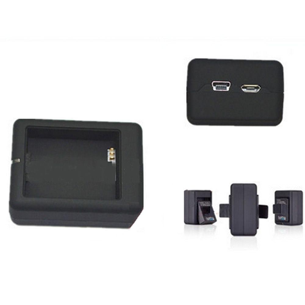 Carregador Duplo de Bateria para Câmeras GoPro Hero 3, 3+