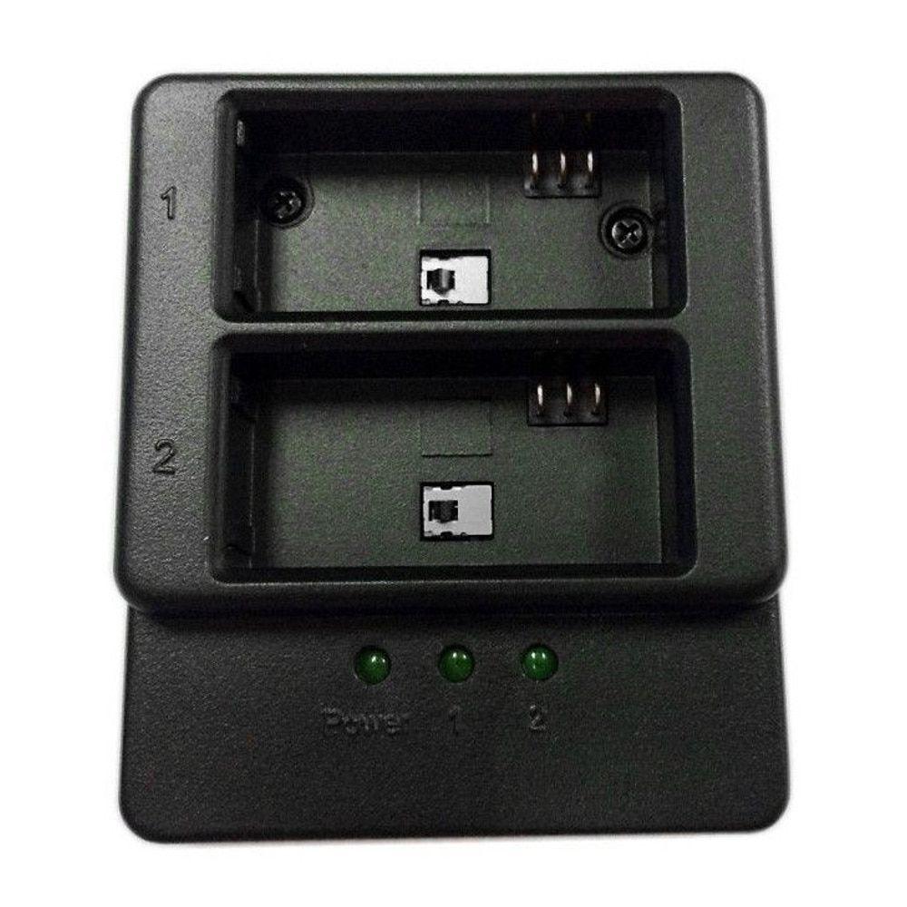 Carregador Duplo de Bateria para GoPro Hero 3, 3+