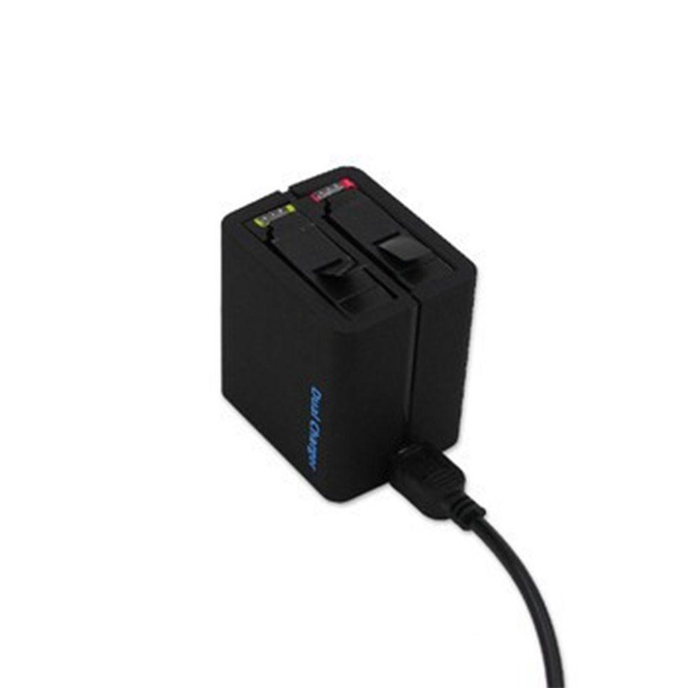 Carregador Duplo de Bateria para GoPro Hero 4