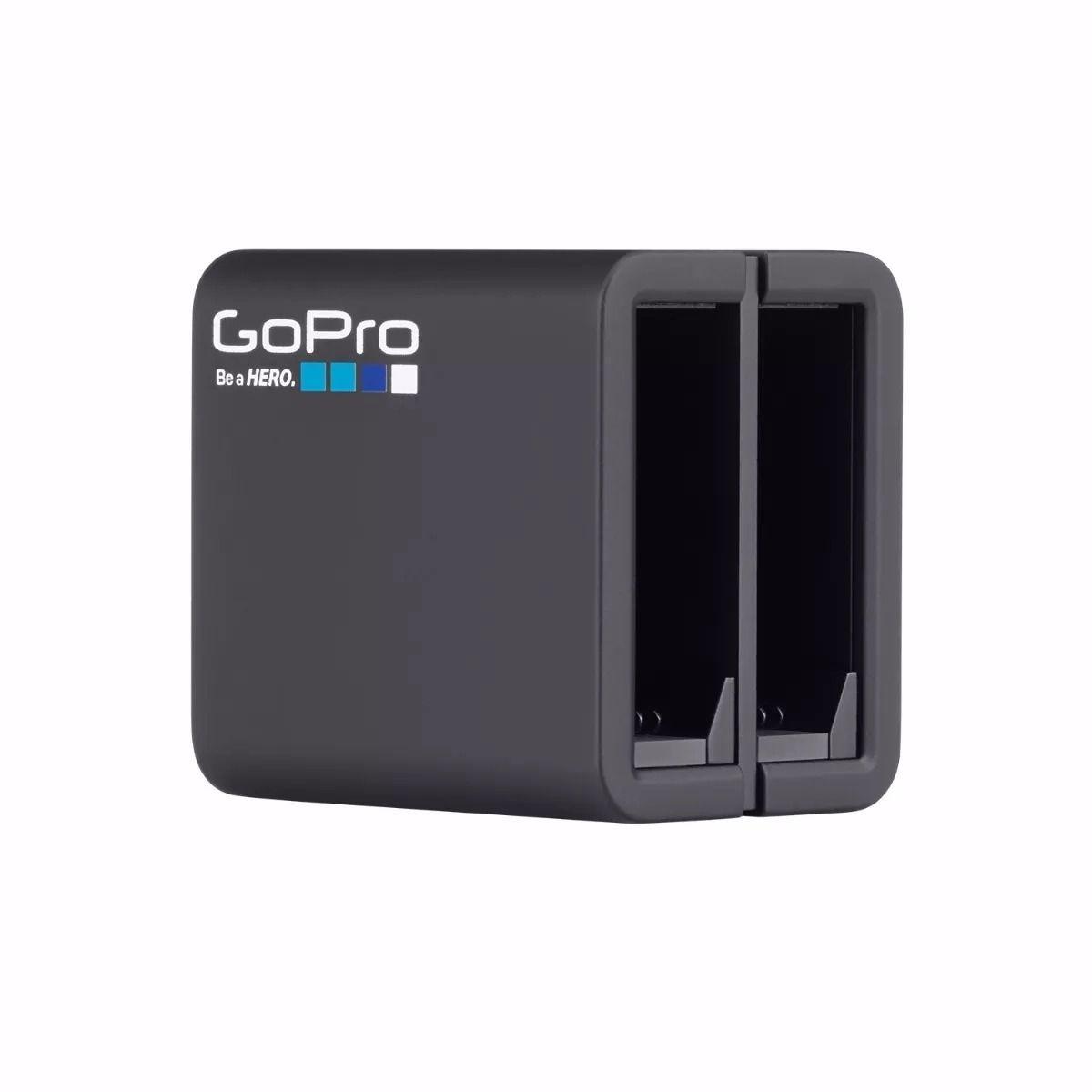Carregador Duplo + Bateria Original GoPro Hero 4 - AHBBP-401