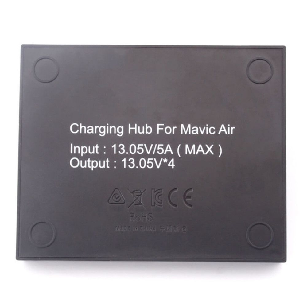 Carregador Hub para 4 Baterias Drone DJI Mavic Air