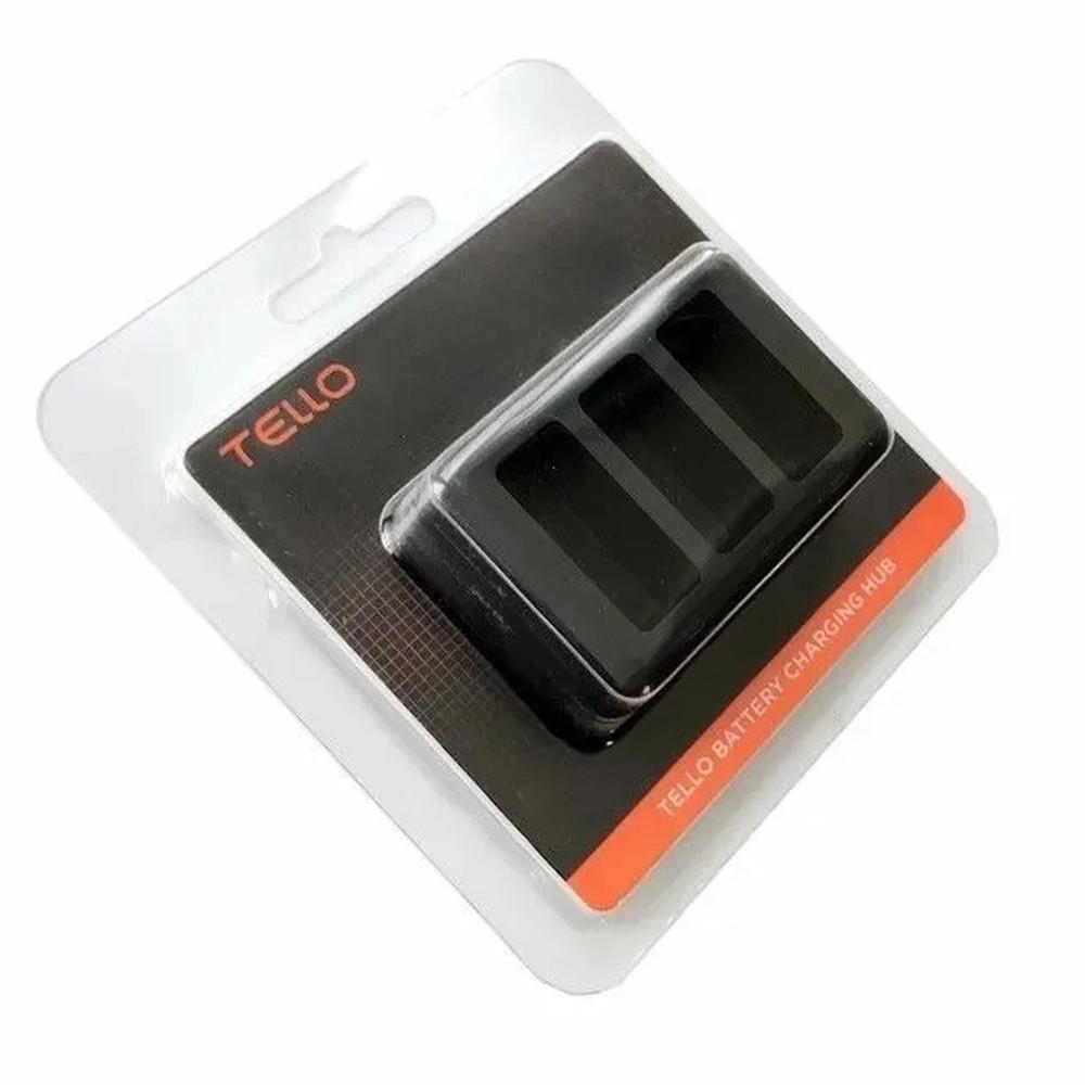 Carregador Original Hub para 3 Baterias Drone DJI Tello