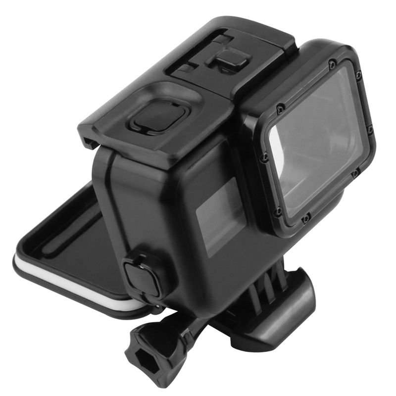 Caixa Estanque Case Blackout Housing Preta Tampa Fechada e Tampa Touch GoPro 5/6/7 Black