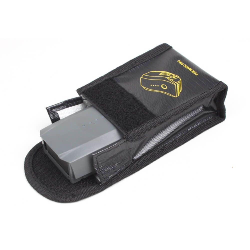 Case de Proteção Antichamas Bateria Drone DJI Mavic Pro