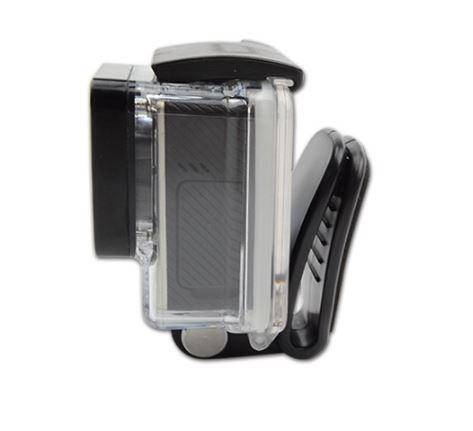 Clip Presilha Grampo de Boné/Bolsa para Câmeras GoPro SJCam Xiaomi