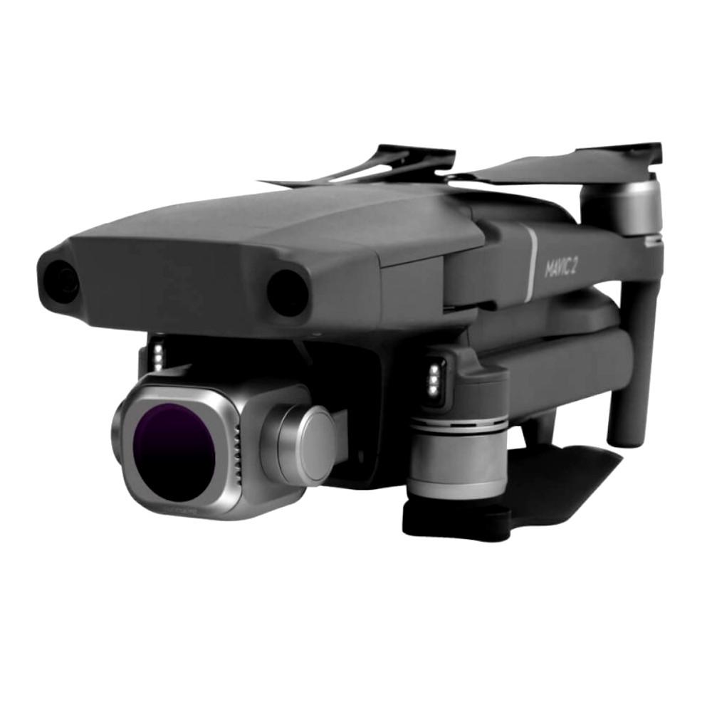 Conjunto 4 Filtros ND4+ND8+ND16+ND32 para drone DJI Mavic 2 Pro