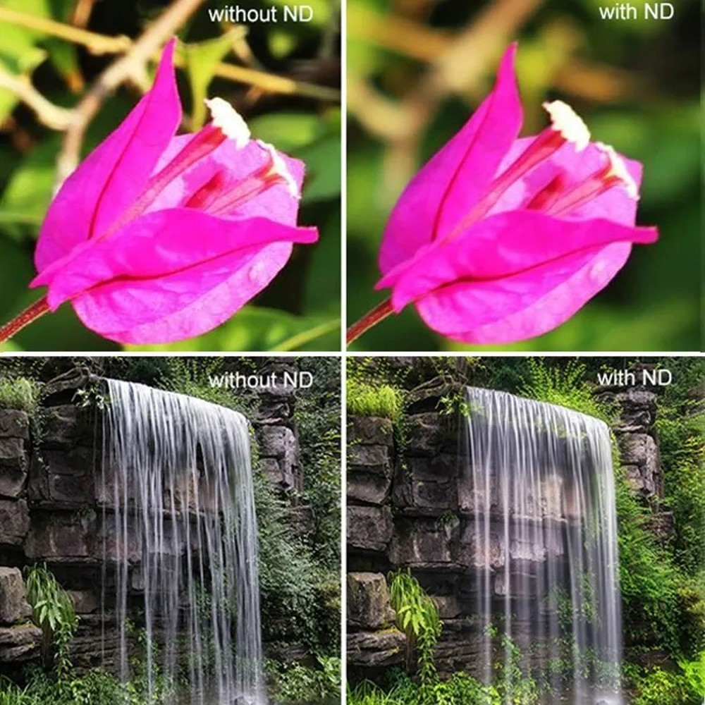 Conjunto de filtros 4-1 para DJI Osmo Action  ND4+ND8+ND16+ND32