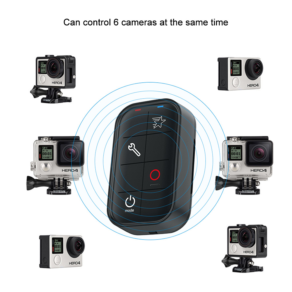 Controle Remoto Smart Remote Wi-fi para GoPro 3/3+/4/5