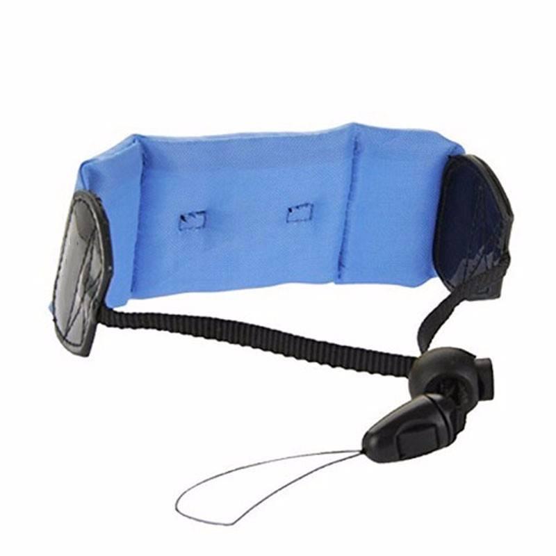 Acessório Bóia De Flutuação Braço Punho Gopro 2-6 Azul
