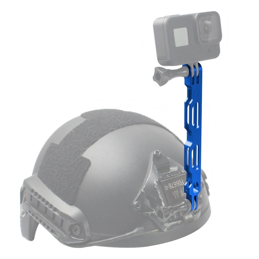 Extensor em alumínio para Câmera de Ação GoPro SJCAM - Azul