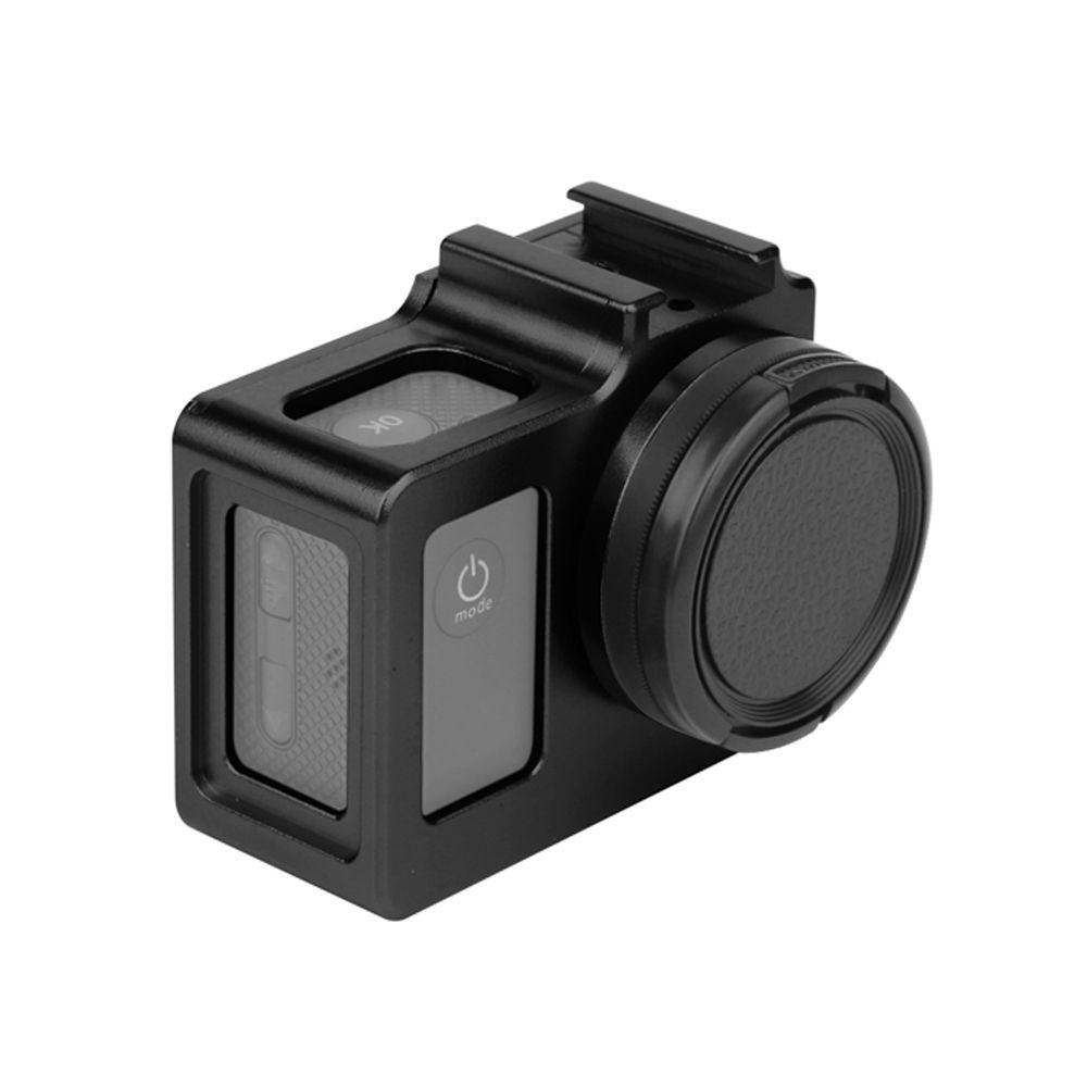 Frame Armação Moldura Em Aluminio para SJCAM 4000-4000WIFI/SJ6000/SJ7000/H9 - Preto
