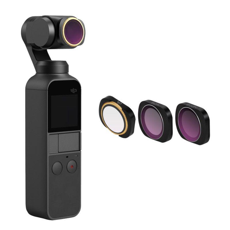Conjunto de filtros para DJI Osmo Pocket  CPL+ND8+ND16