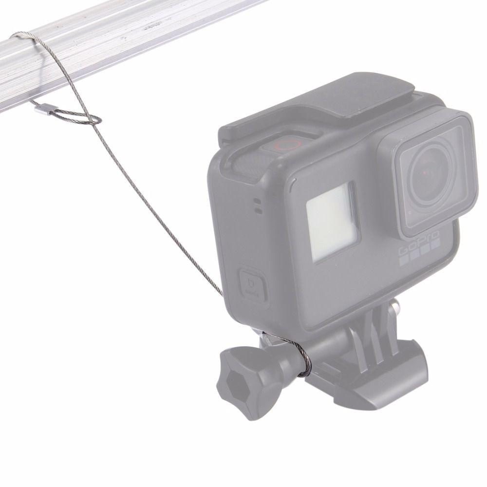 Cordão de segurança em aço inoxidável 30cm para Câmeras de Ação