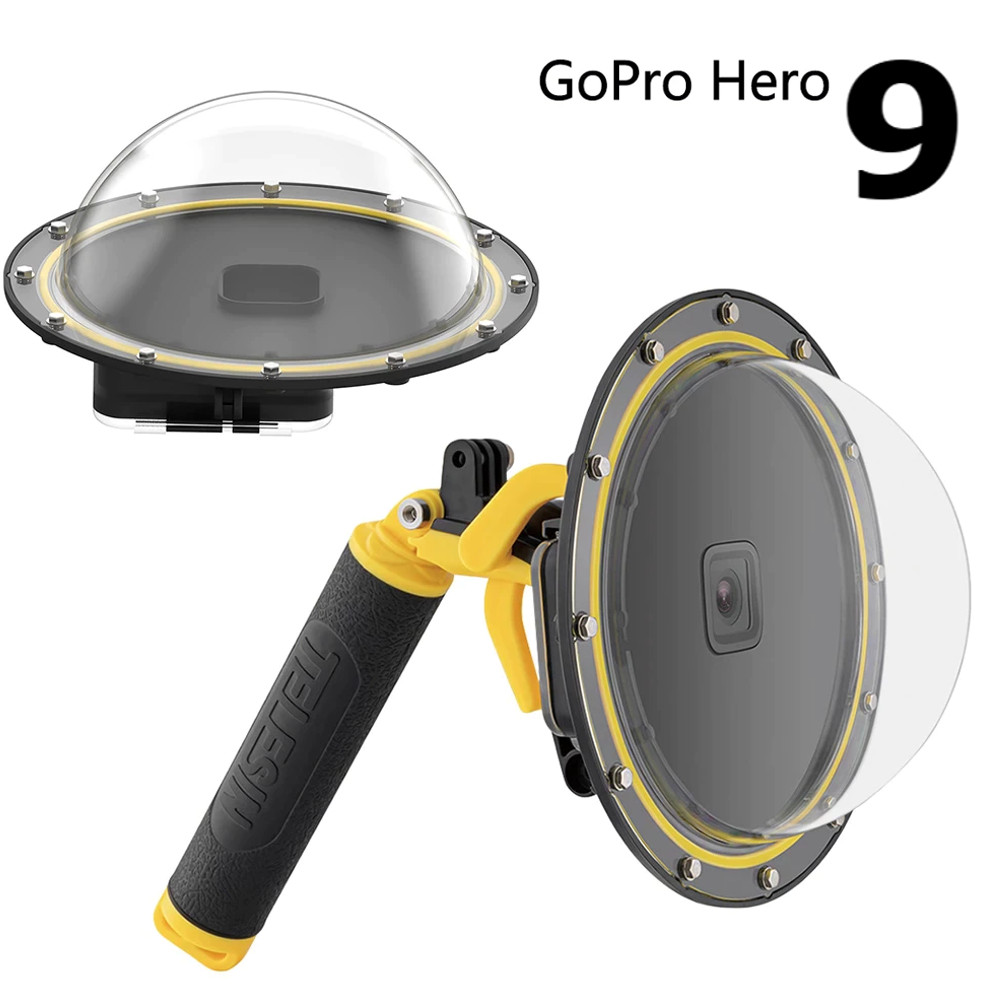 Dome 6' Telesin com estanque, bastão e  gatilho GoPro 9