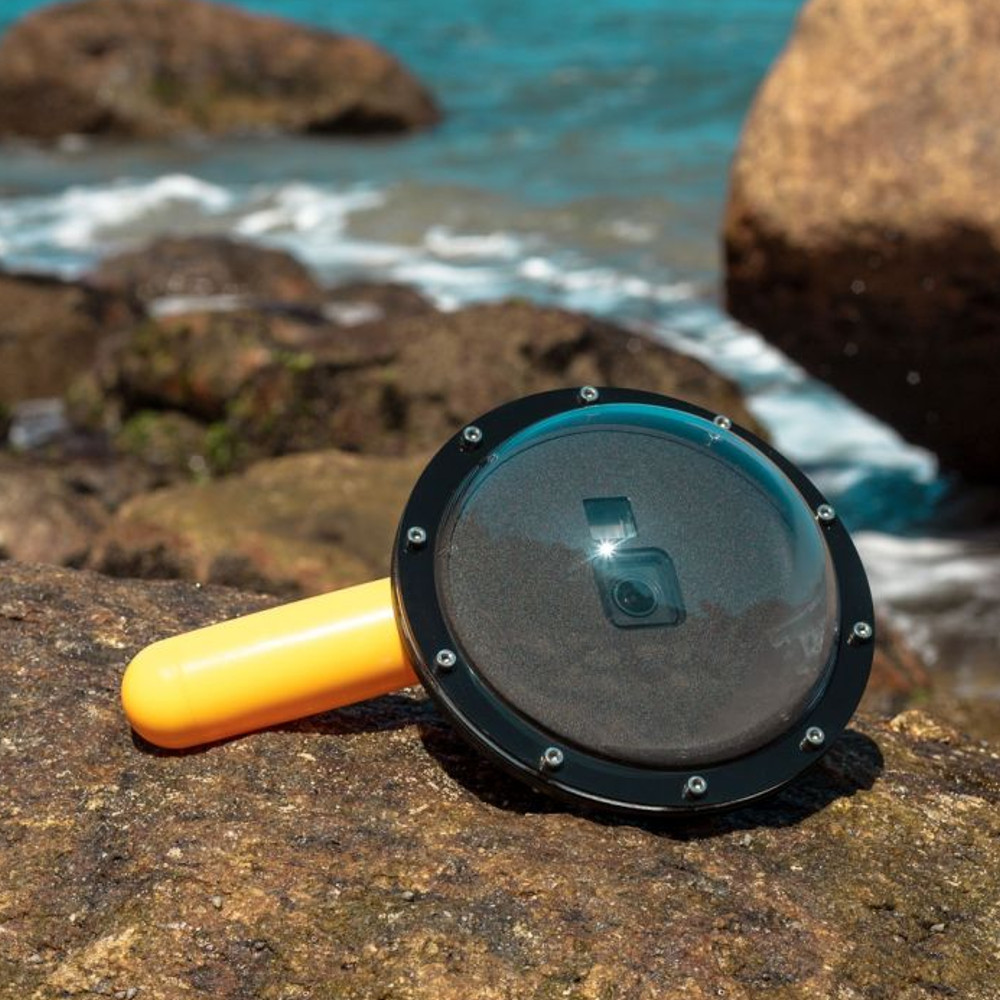 Dome Para Caixa Estanque Original GoPro 9 e 10 Black - Meu Dome