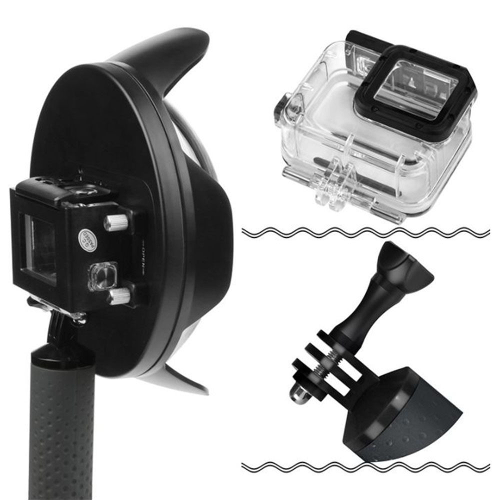 Dome Shoot 6' com estanque para GoPro Hero 3/3+/4