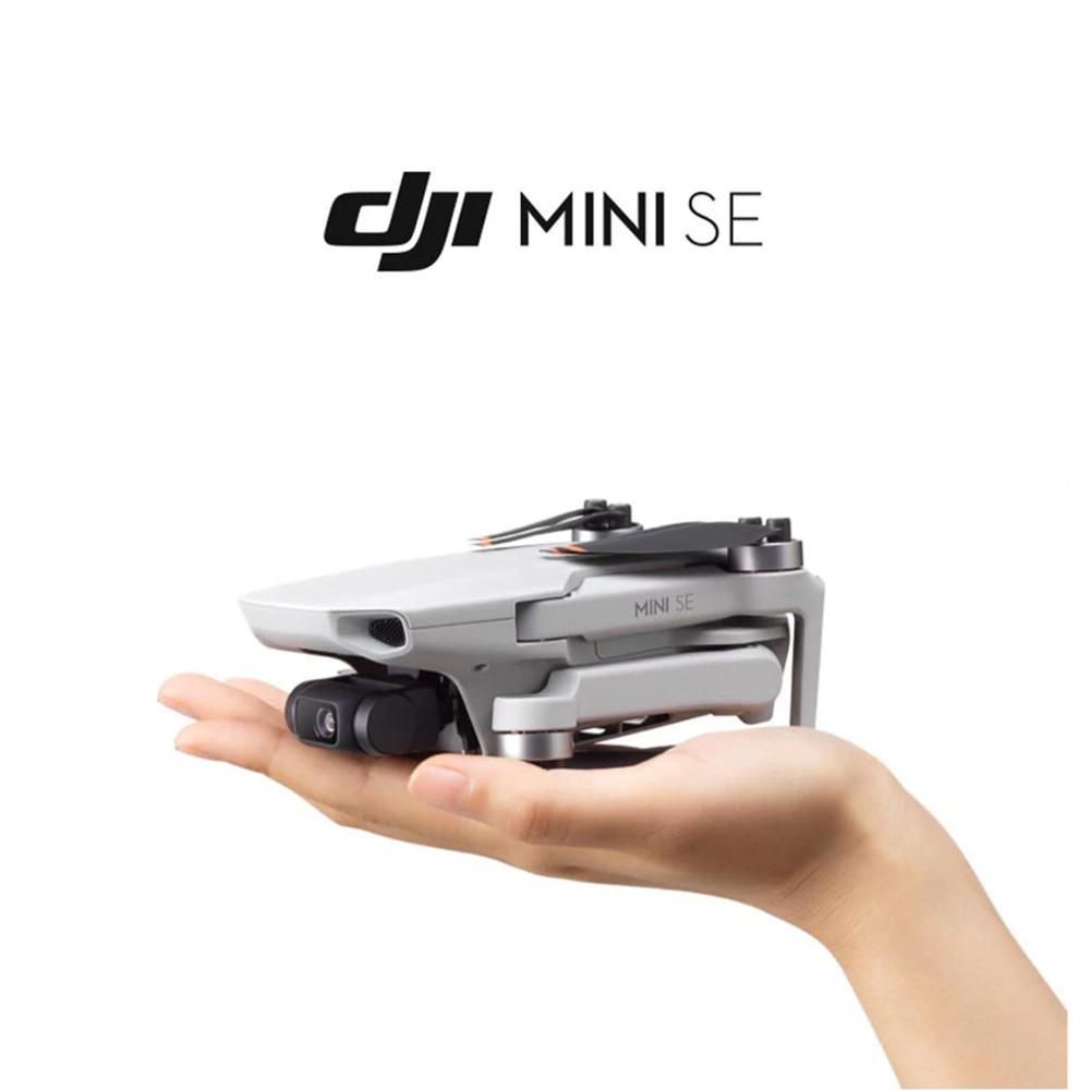 Drone DJI Mini SE Fly More Combo com Câmera - 2,7K com Controle Remoto Cinza