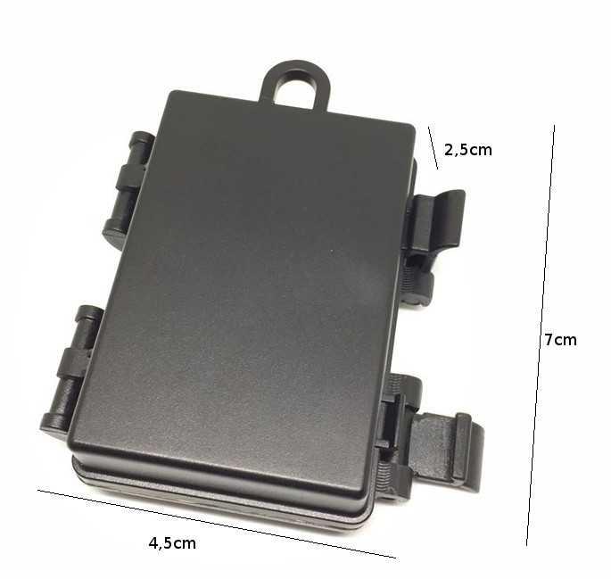 Estojo Caixa Transporte Bateria Gopro 3,4,5