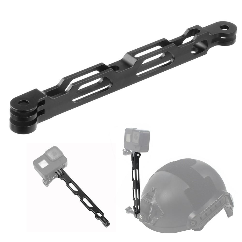 Extensor em alumínio para Câmera de Ação GoPro SJCAM - Preto