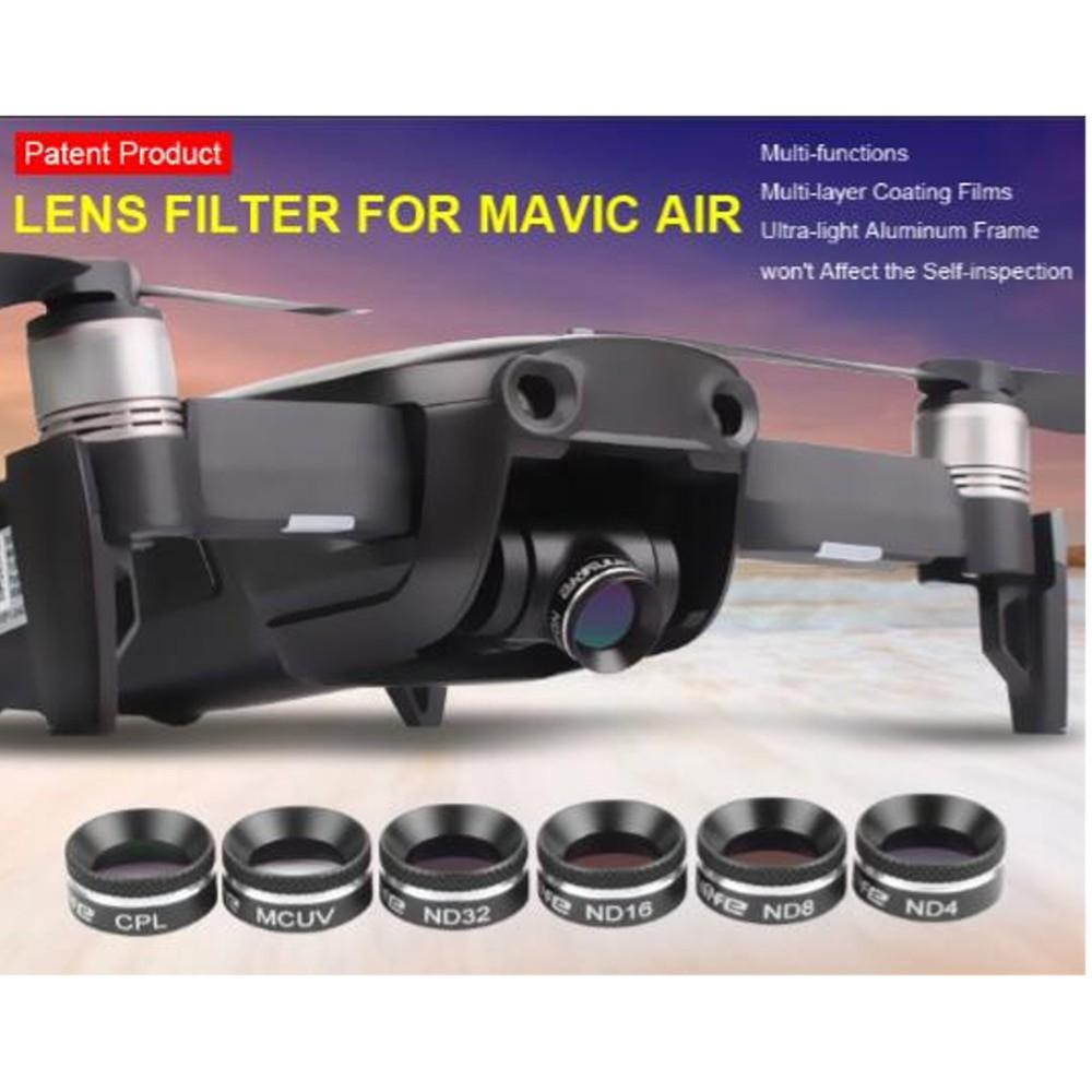 Filtro de lente ND32 para Drone DJI Mavic Air