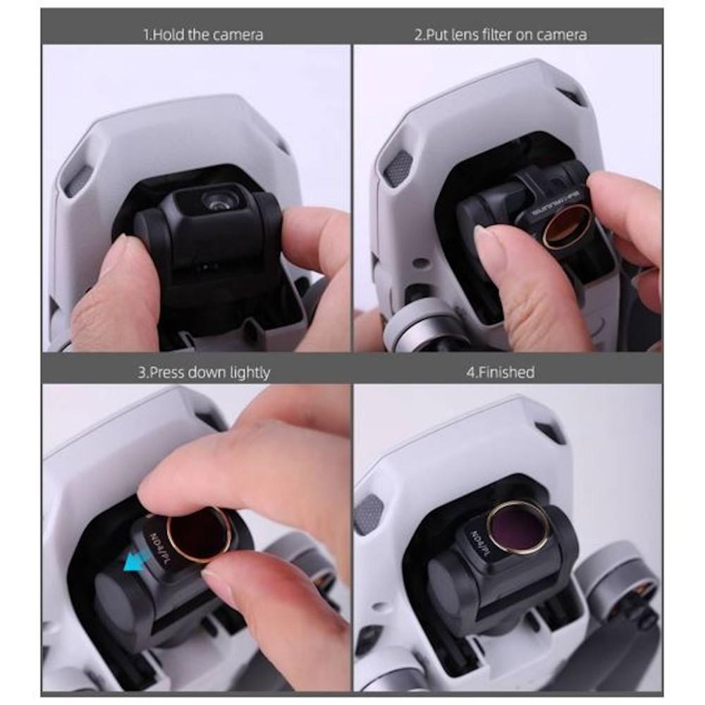 Filtro de lente ND32 para drone DJI Mavic Mini