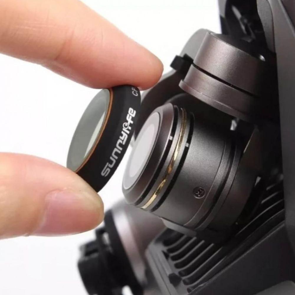 Filtro de Lente ND4 para câmera do Drone DJI Mavic Pro