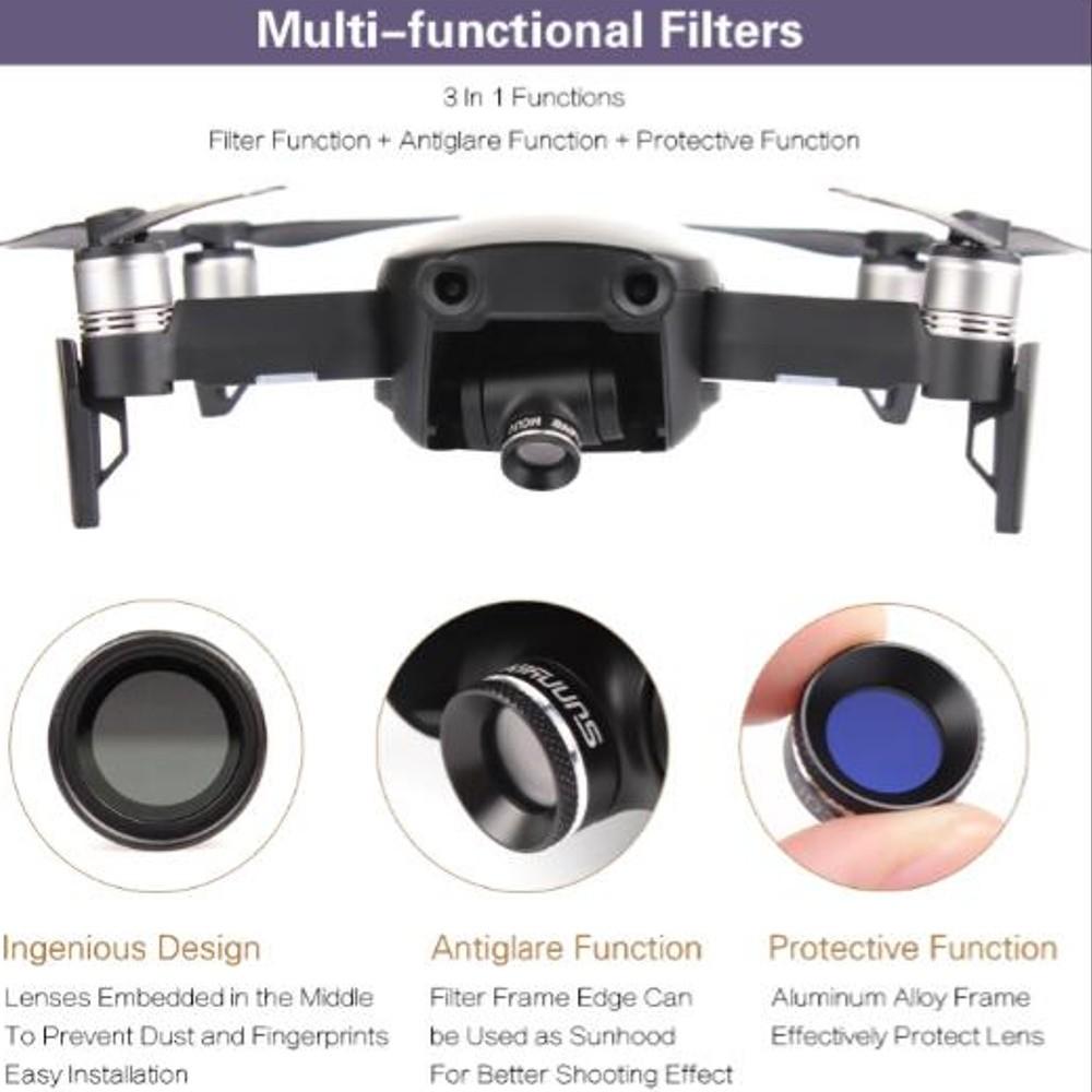 Filtro de lente ND4 para Drone DJI Mavic Air