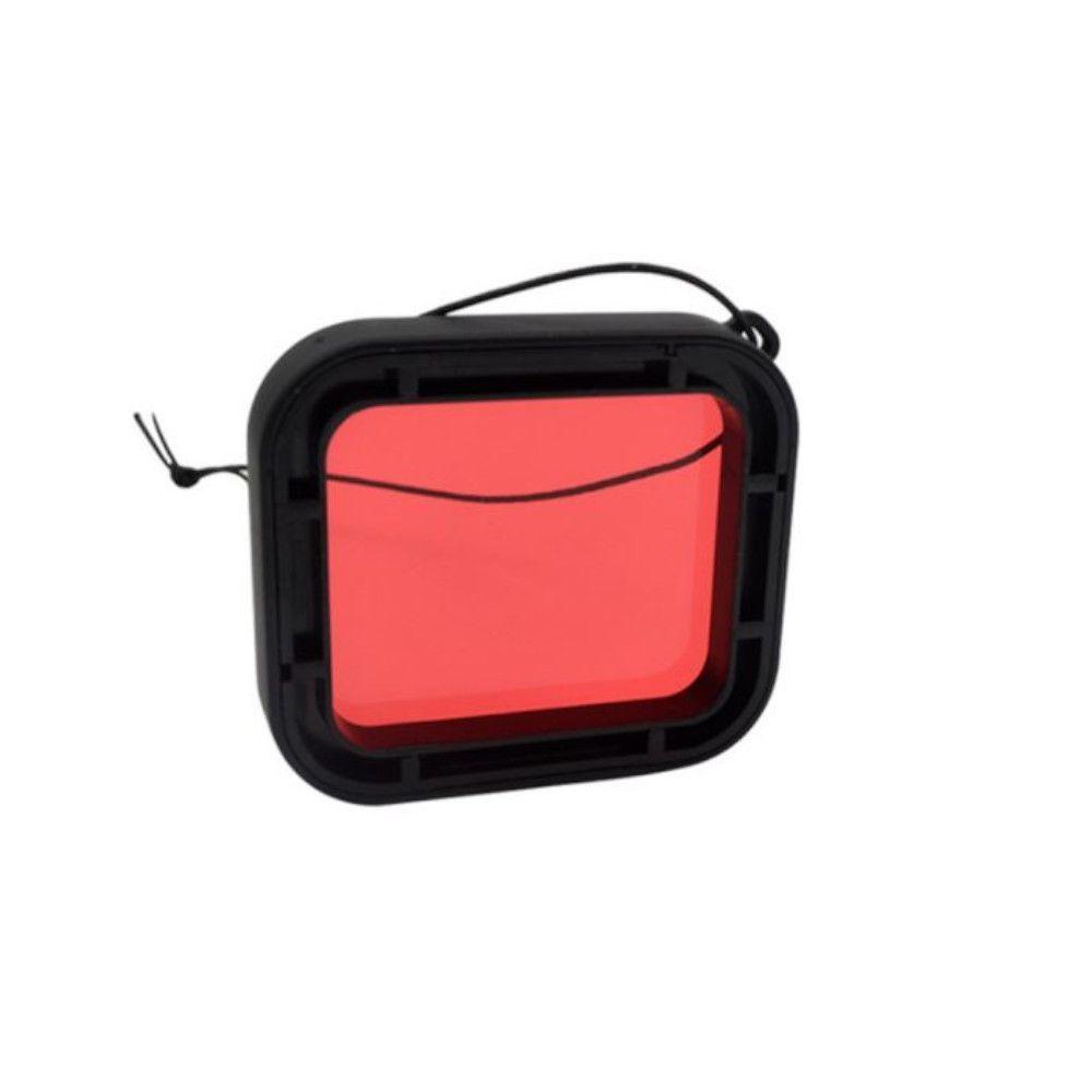 Filtro de Mergulho Vermelho para GoPro Hero 5/6/7