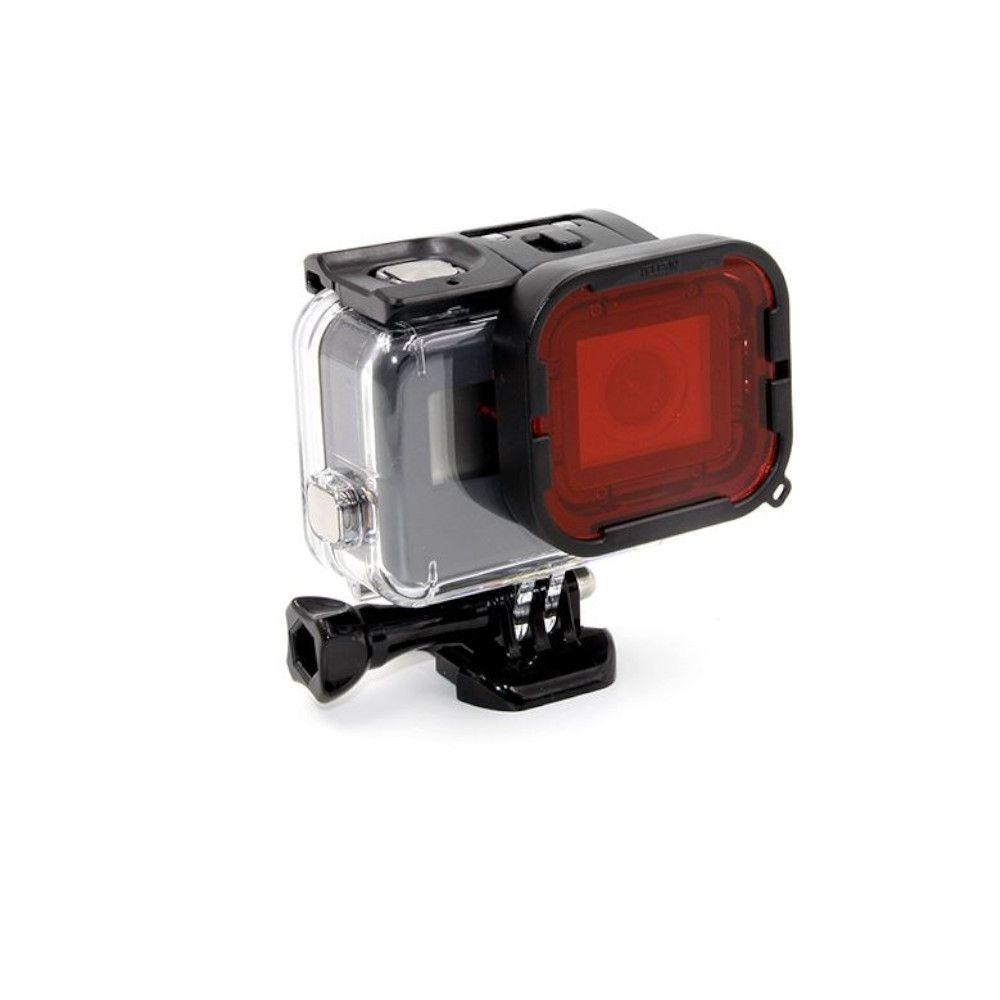 Filtro para Mergulho Vermelho para GoPro Hero 5, 6, 7