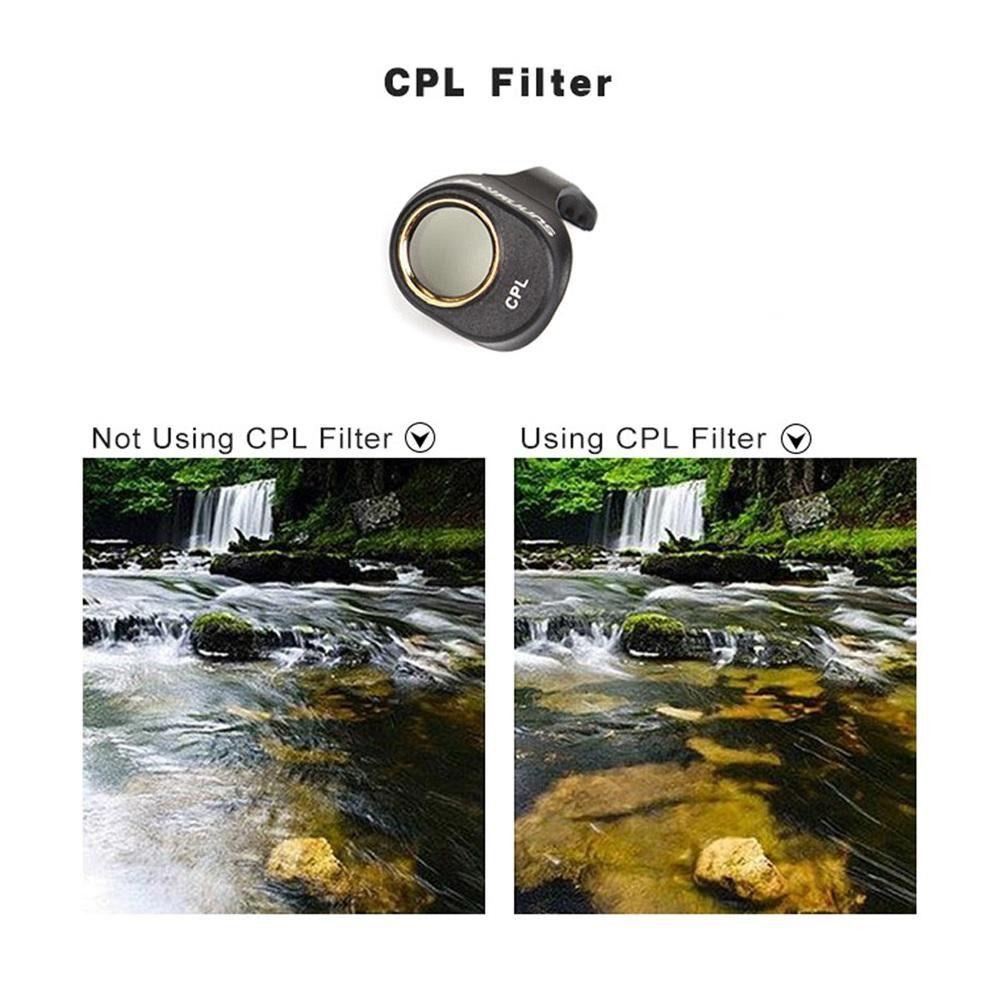 Filtro Polarizado CPL para Drone DJI Spark