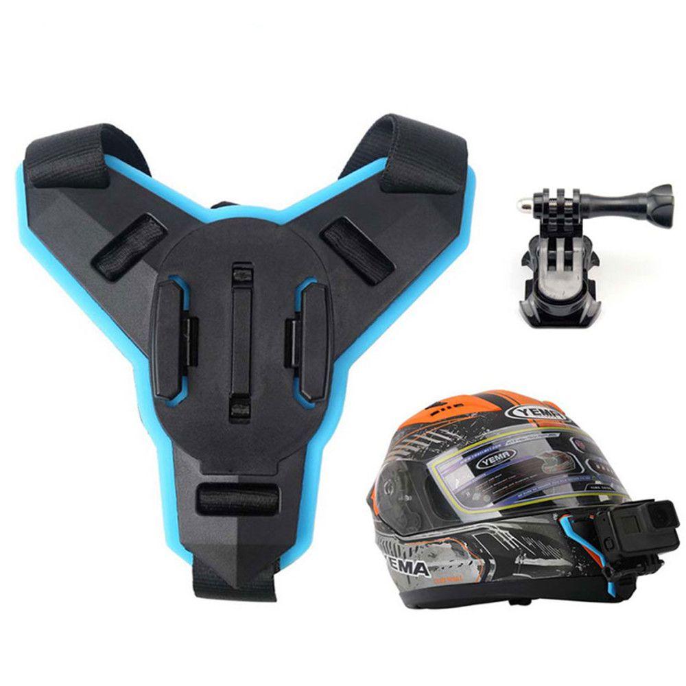 Fivela Presilha Helmet de Capacete Queixeira Moto GoPro SJCAM