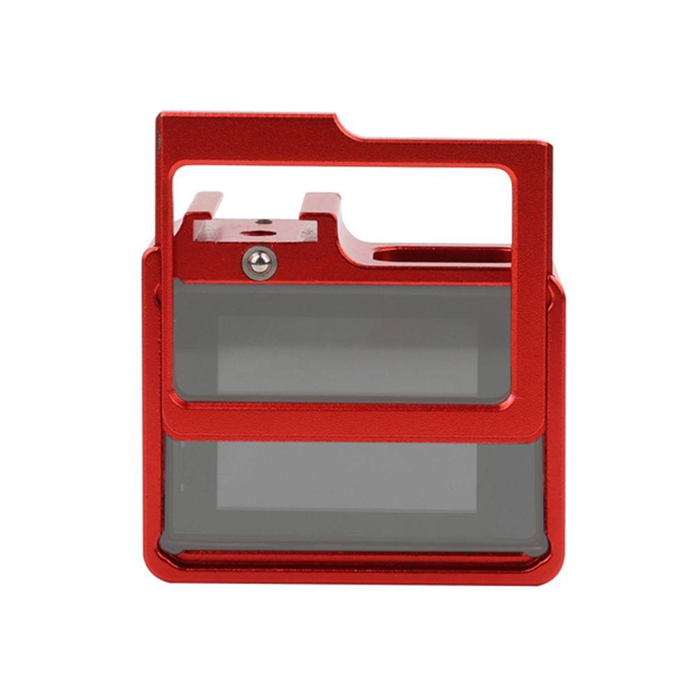 Frame Armação Moldura Em Aluminio para SJCAM 4000-4000WIFI/SJ6000/SJ7000/H9 - Vermelho