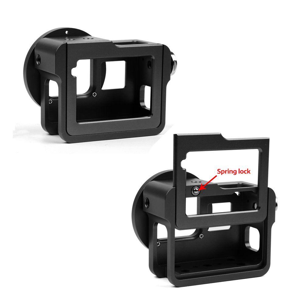 Frame Case Proteção Alumínio + Lente Uv 52mm P/ Camera Shoot