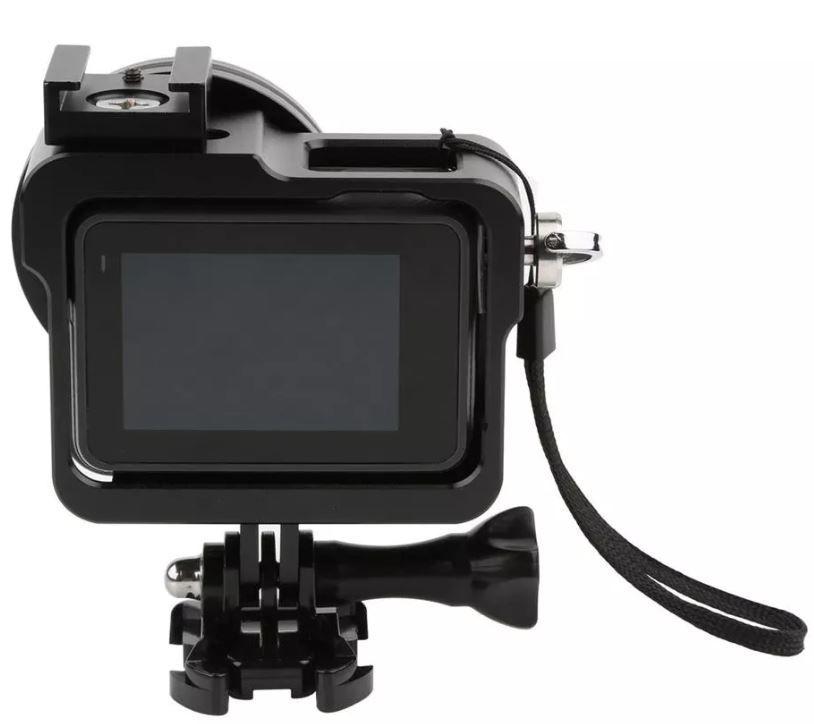 Frame em Alumínio Gopro Hero 5 Black + Lente Uv  - Imp. Hero 5