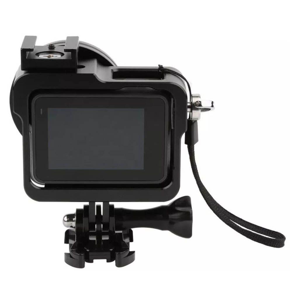 Frame Case Proteção Alumínio + Lente Uv Gopro Hero 6 Black  - Imp. Hero 6