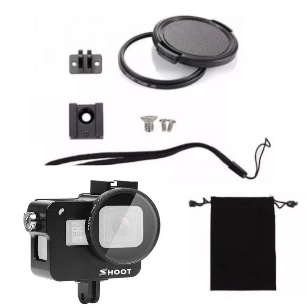 Frame em Alumínio + Lente 52mm Hero 5/6/7 Black