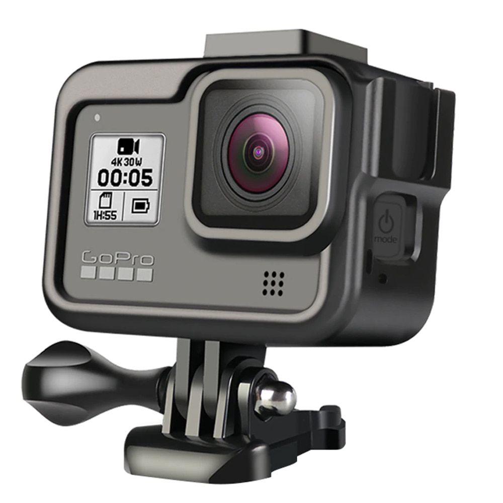Frame em Alumínio Moldura para  GoPro 8 Black