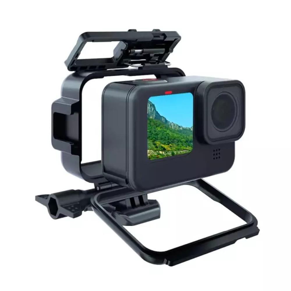 Frame Moldura Case para  GoPro Hero 9 e 10 Black