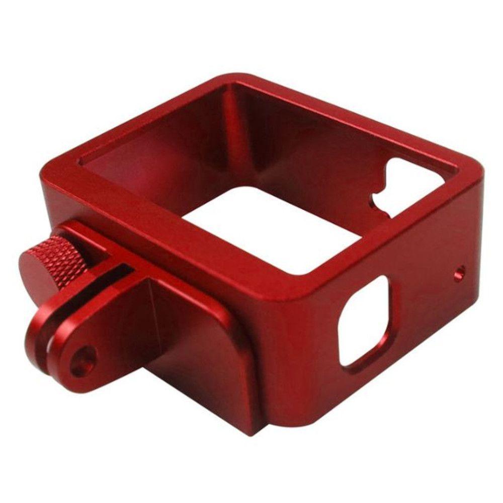 Frame Moldura em Alumínio Vermelho para GoPro 5/6/7 Black