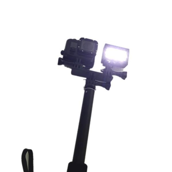 Gopro Acessório Suporte Para Câmera E Flash Gopro 2,3,4