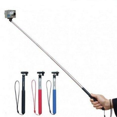 GoPro Acessórios Bastao Monopod GoPro 1-6 + Adaptador