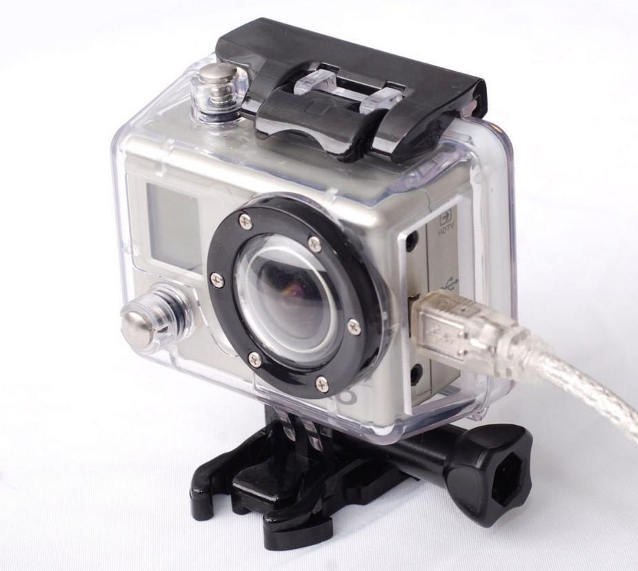 Caixa Estanque Aberta Housing Skeleton para Câmeras GoPro Hero 2
