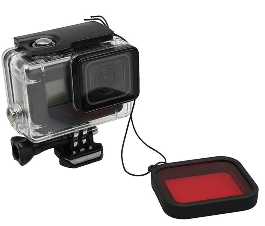 GoPro Acessórios Filtro para Mergulho Vermelho Hero 5/6