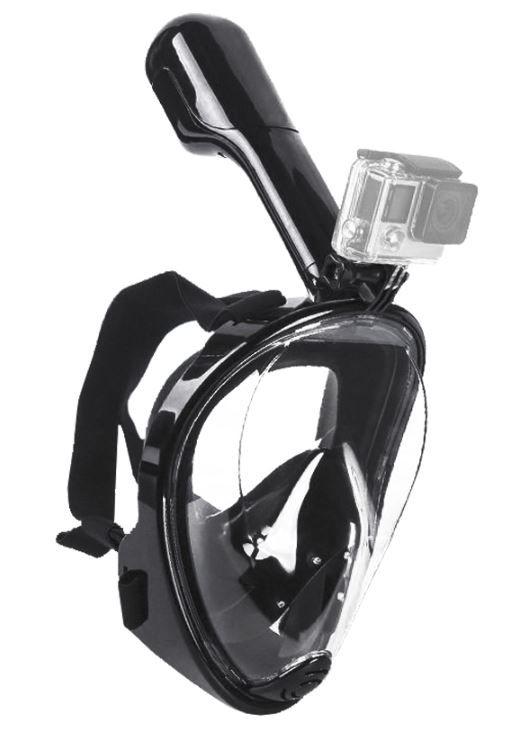 Gopro - Acessórios Máscara De Mergulho Surface Gopro 1-6 - Preto S/M