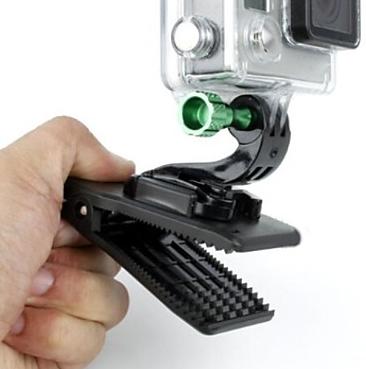 Presilha Grampo - Quick Clip Buckle 360 graus para Câmeras de Ação GoPro Hero SJCam Xiaomi