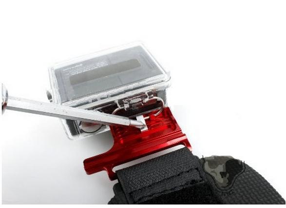 Gopro Acessórios Suporte Punho Com Trava Em Aluminio Hero 3+,4