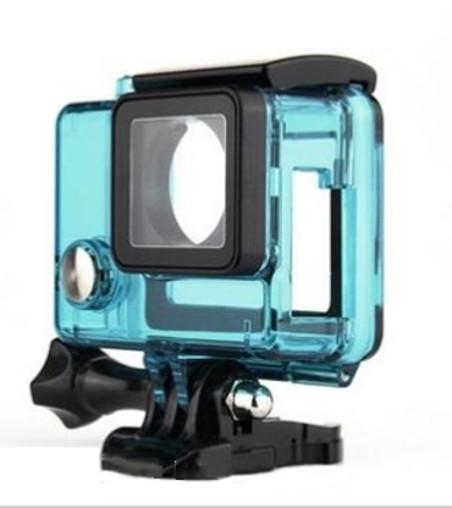 GoPro Caixa Estanque Aberta Vazada - Hero 3/3+/4 - Verde