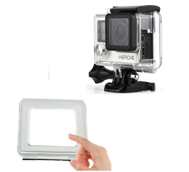 Caixa Estanque Touch Tampa Traseira Aberta  para GoPro Hero 3+, 4