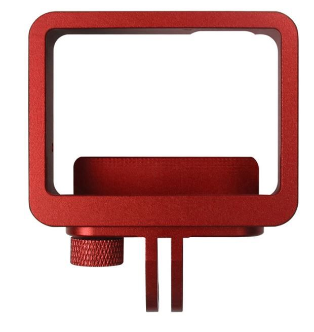 GoPro Frame Moldura em  Aluminio 5/6 Black - Vermelho
