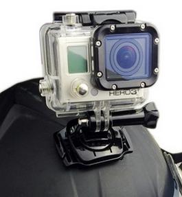Adaptador Buckle 360 Graus para Câmeras de Ação GoPro Hero SJCam Xiaomi